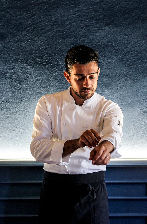 Chef Simone Frerotti Brescia La piazzetta 2070